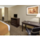 Wheelchair Accessible King Bed Guest Room with ADA Accessible Tub
