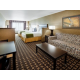 2 Queen Suite with a Sofa bed and free Wi-Fi.
