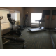 Work out after a long day of travel in our updated fitness center