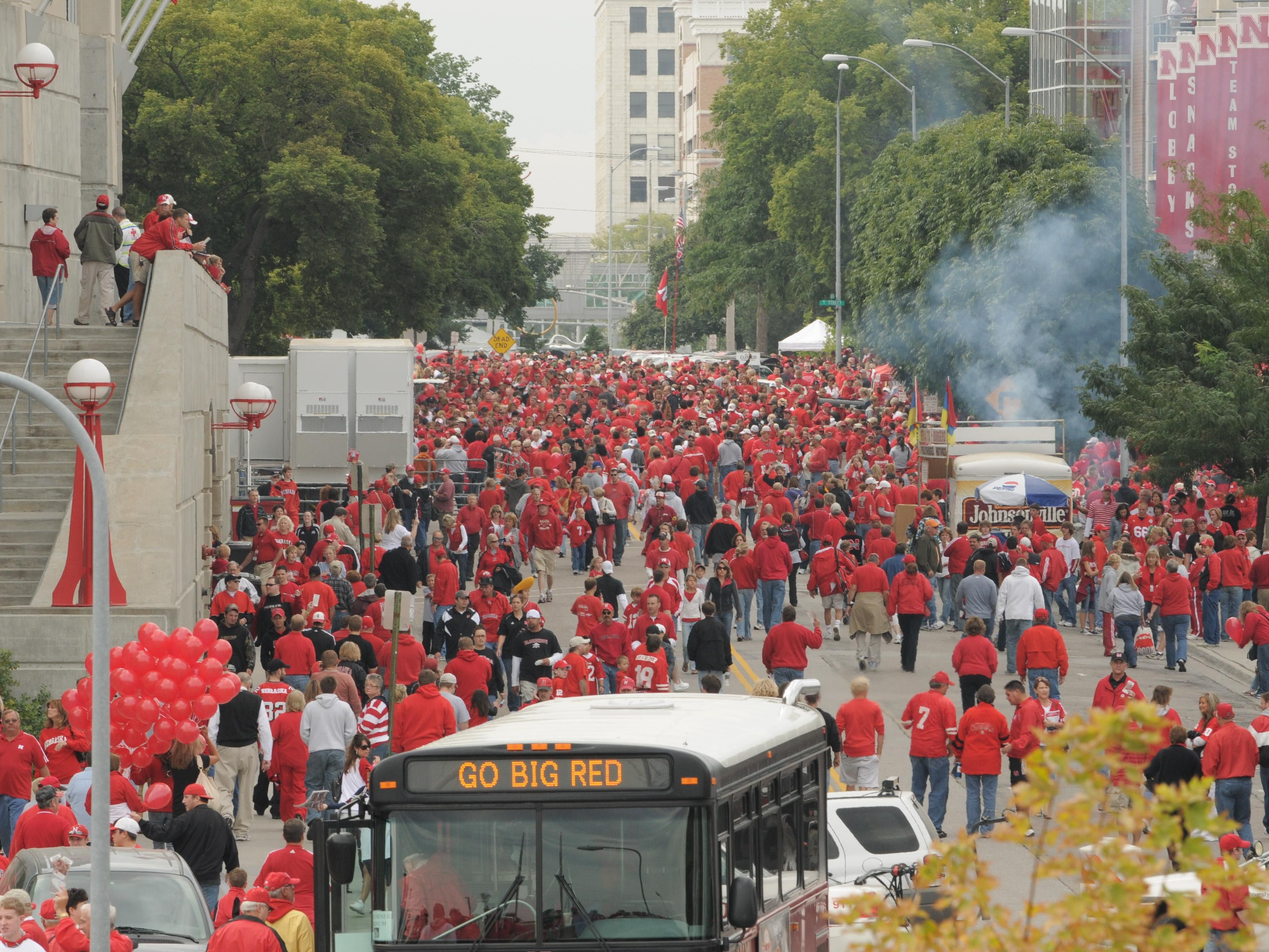 Sea of Red - Game Day