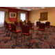 575sqft meeting room accommodates 1-40 people max based on set up.