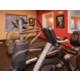 Treadmill, elliptical, and stationary bike.