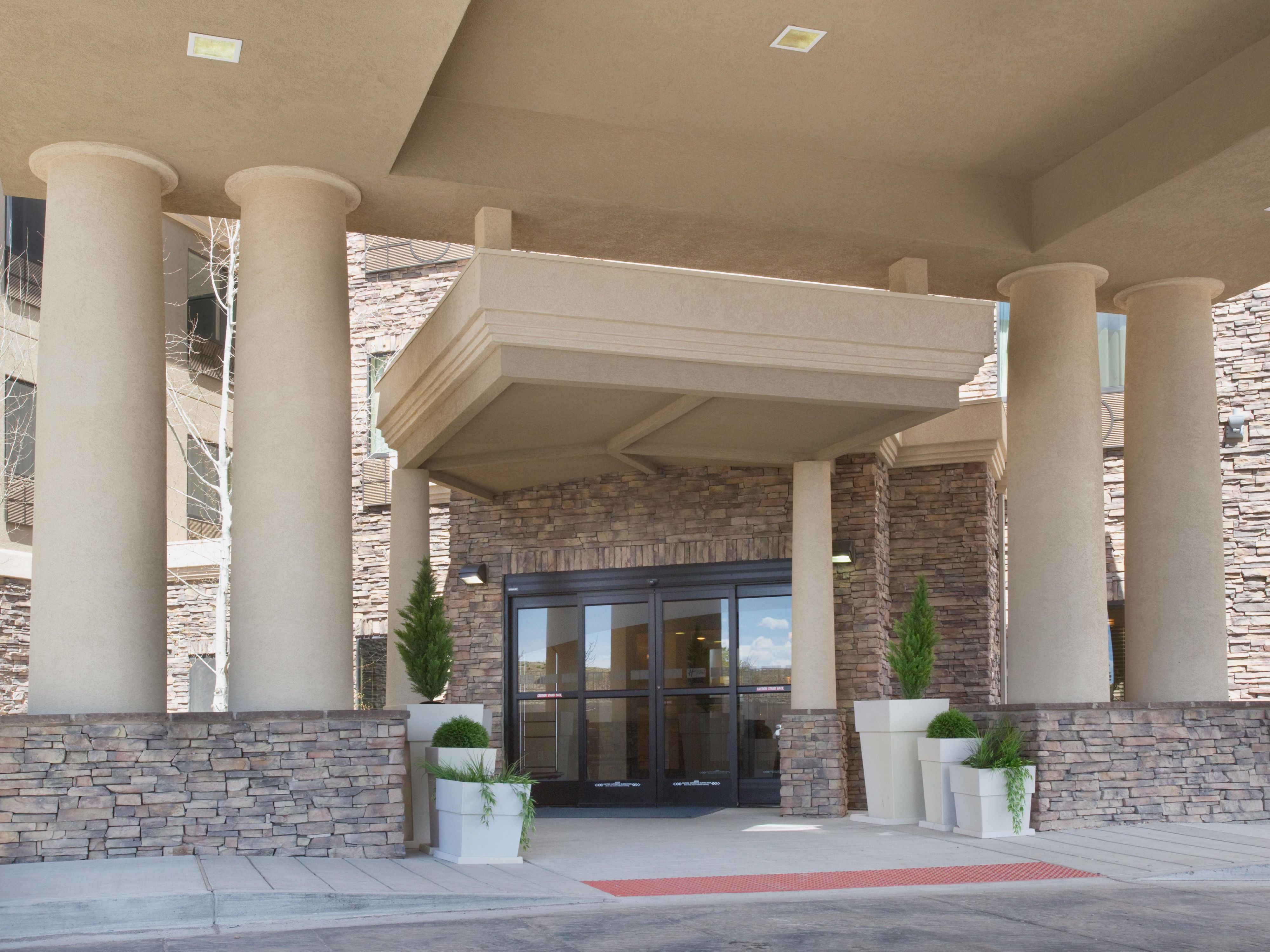 New Hotel Entrance