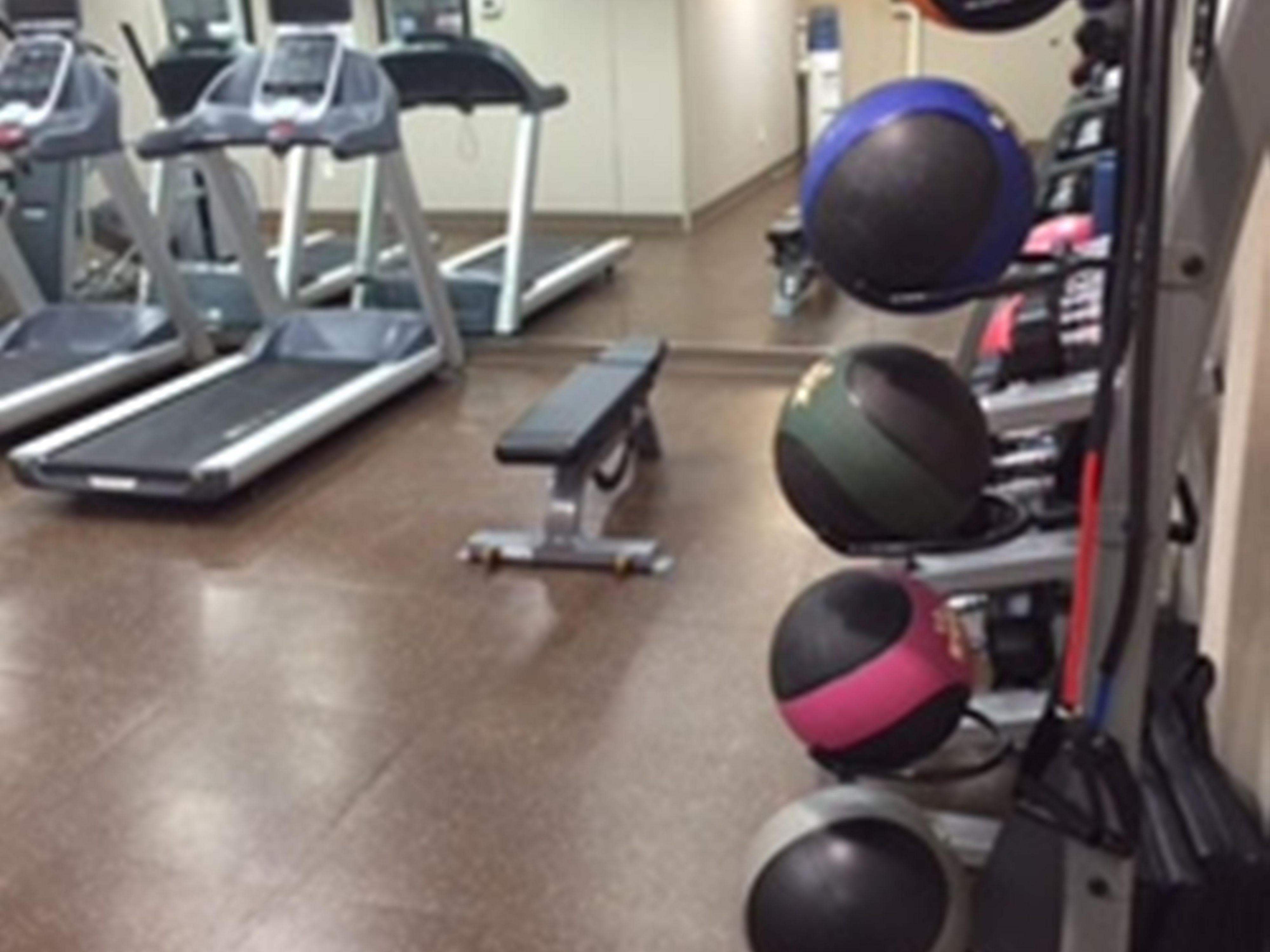 Fitness Center at The Holiday Inn Express in Mankato