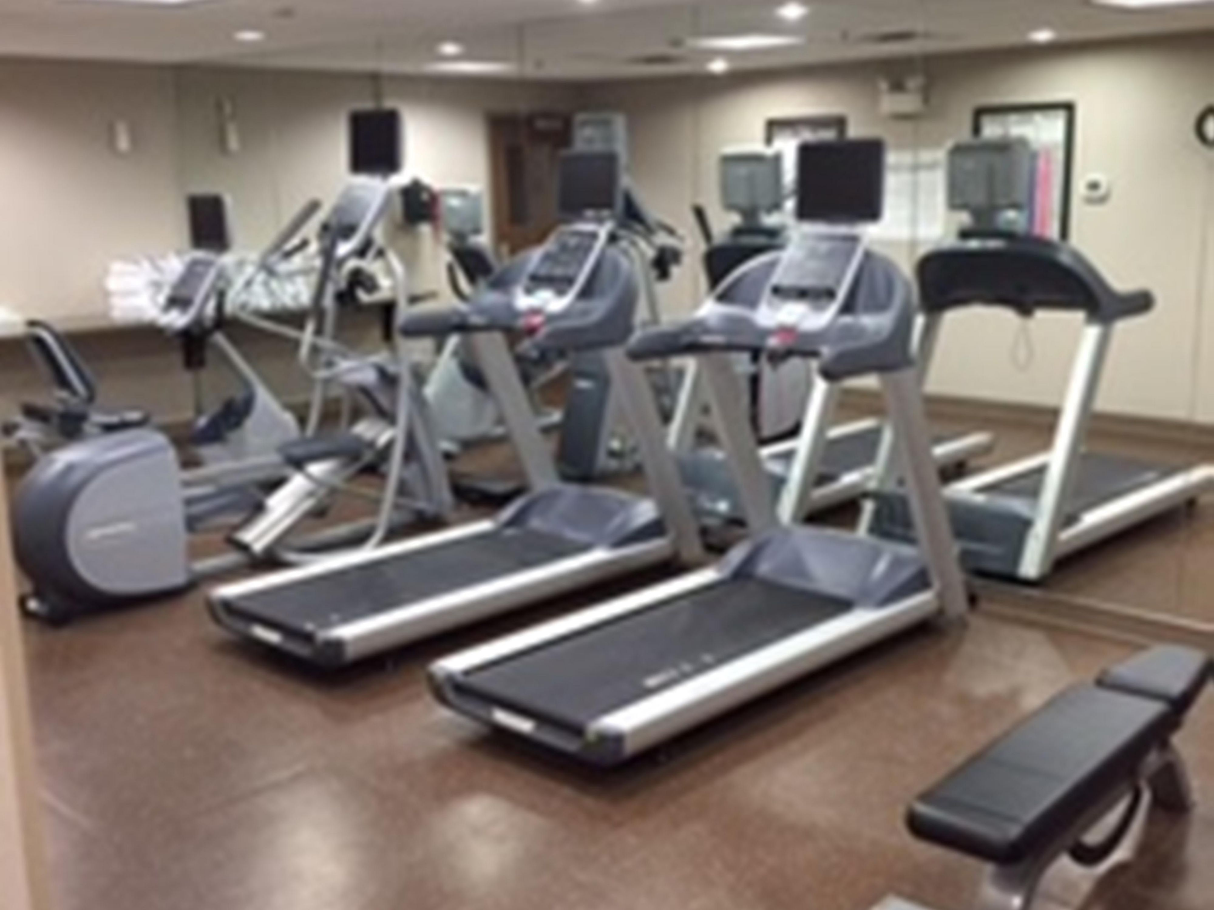Upscale Fitness Center with Upgraded Equipment