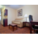 Two room suites offer pull out sofa with full size bed