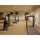 Stretch your legs after a long road trip in our fitness center!