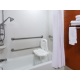 Rooms with accessible tubs available in king or two queen rooms