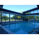 Swimming Pool Roll A Cover Roof Open