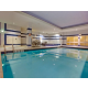 Relax after a long day in our heated indoor swimming pool