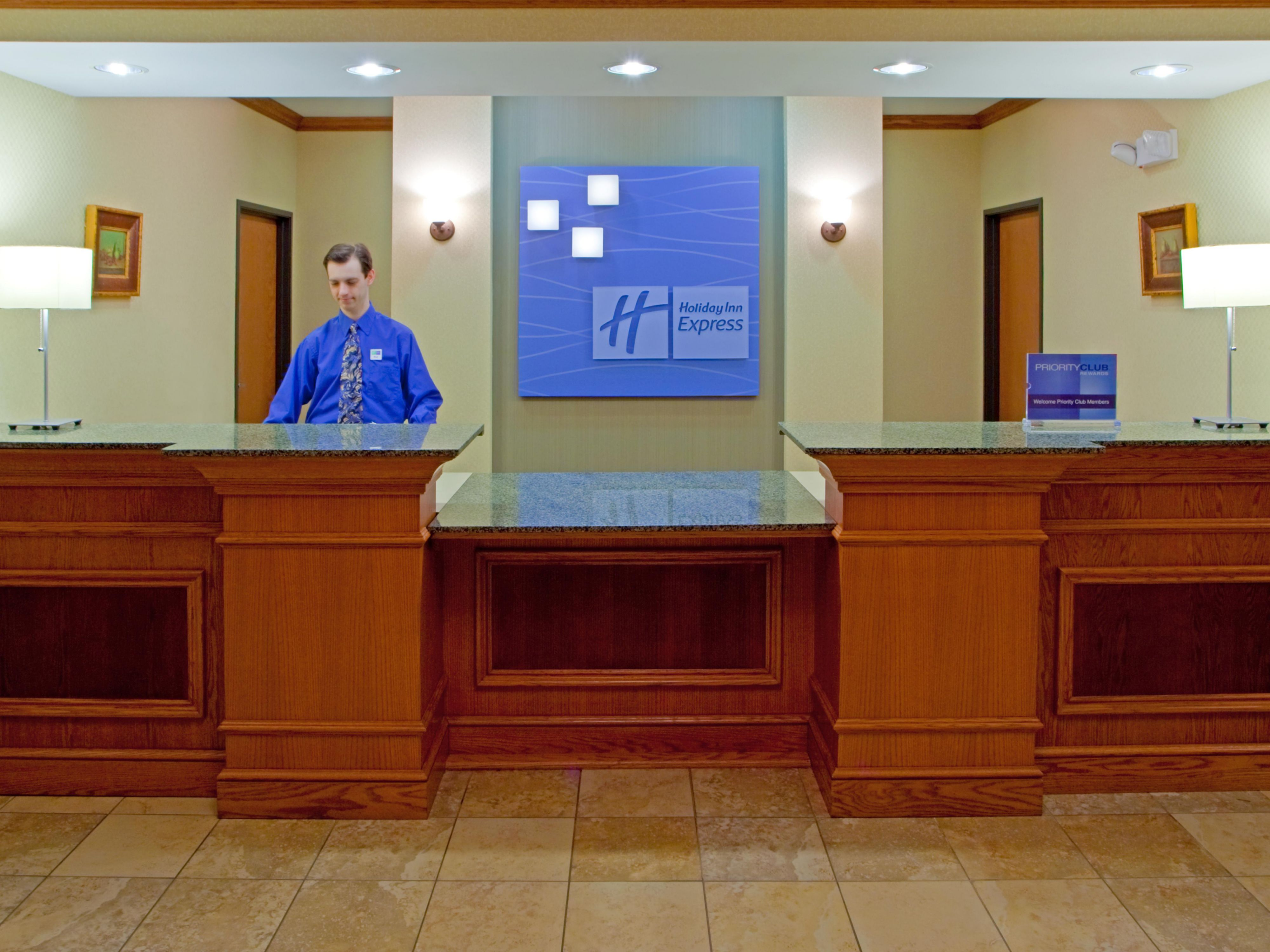Have a friendly check in with our great Front Desk