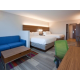 2 Queen Suites are great for families! 2 Queen Beds plus a sofabed