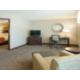 Two Room  King Size Guest Suite, full size sleeper sofa & wet bar