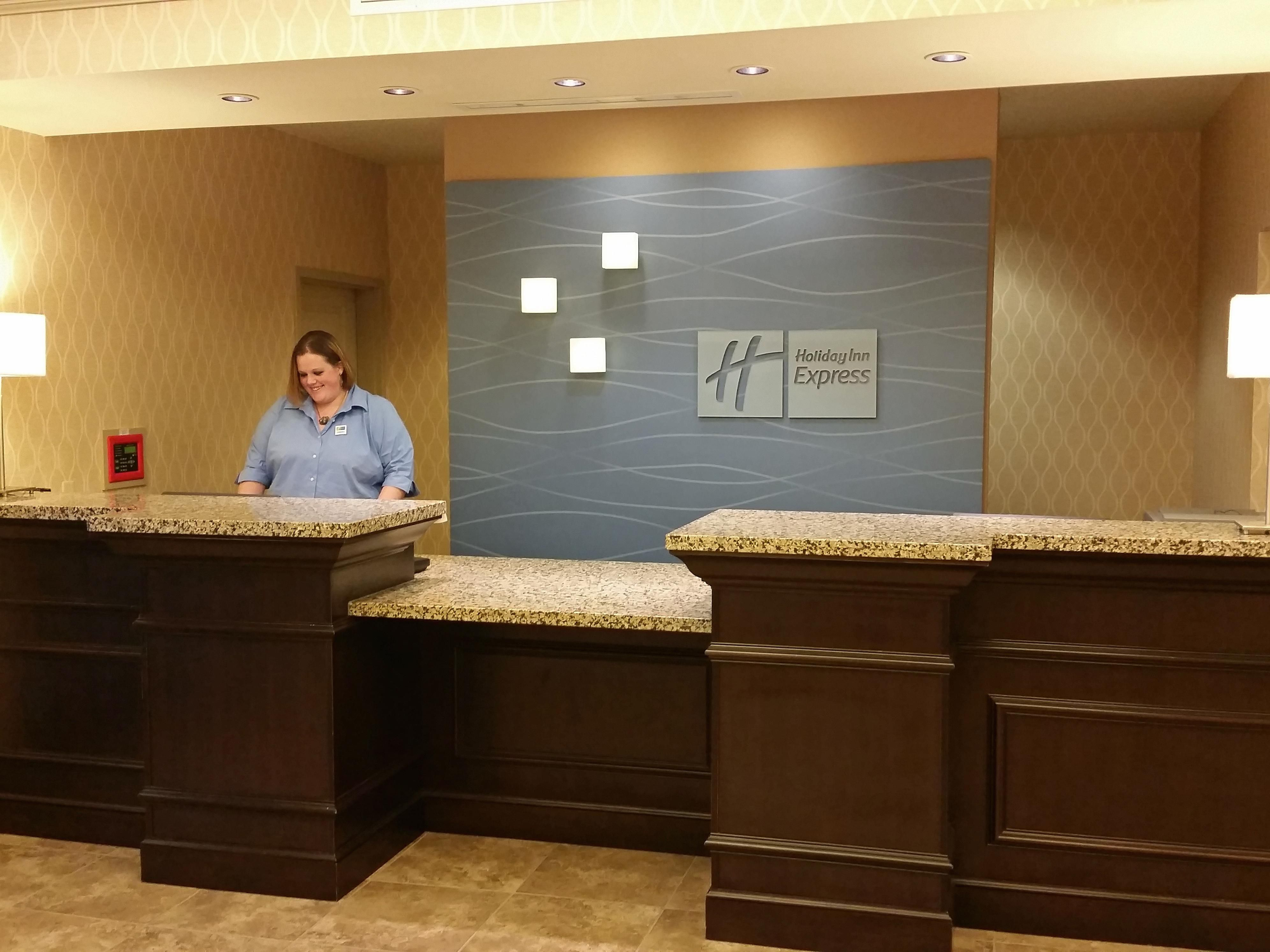 Welcome to our Front Desk