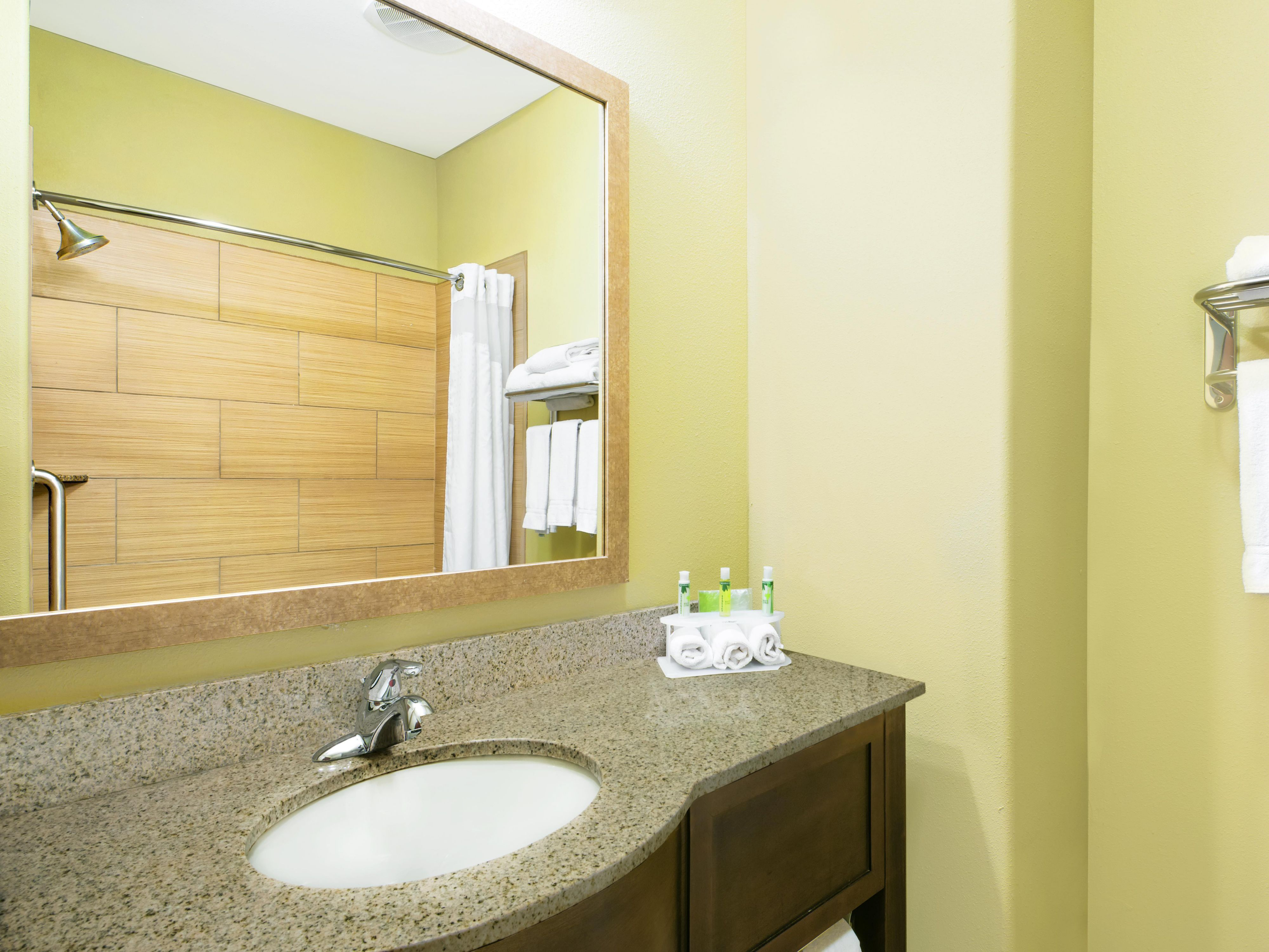 Monahans, TX Holiday Inn Express & Suites Guest Bathroom
