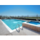 Outdoor Heated Swimming Pool with Hot Tub