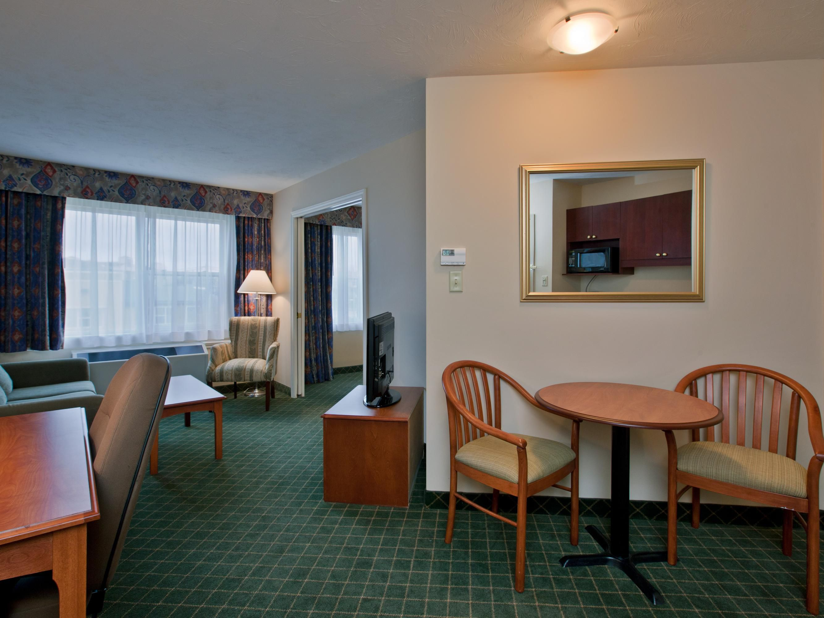 All our suites have a seperate living room