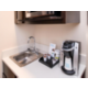 Keurig Coffee Maker and Microwave