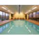 Swimming is very beneficial in a warm pool