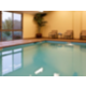 Our indoor heated pool is very relaxing