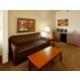 King leisure suite provides comfortable living quarters
