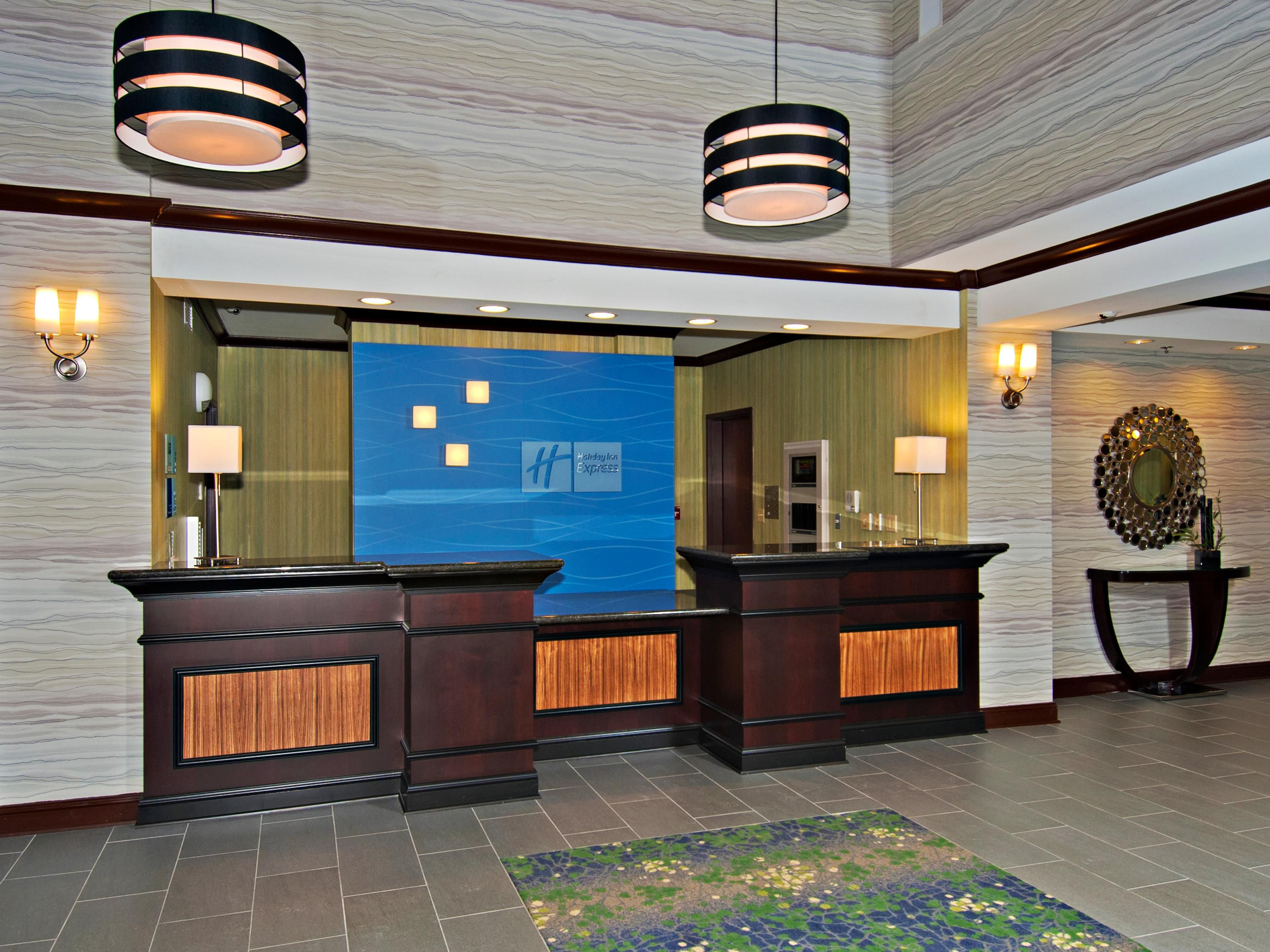Hotel Lobby's Front Desk