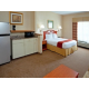 Some Rooms feature full size Refrigerator