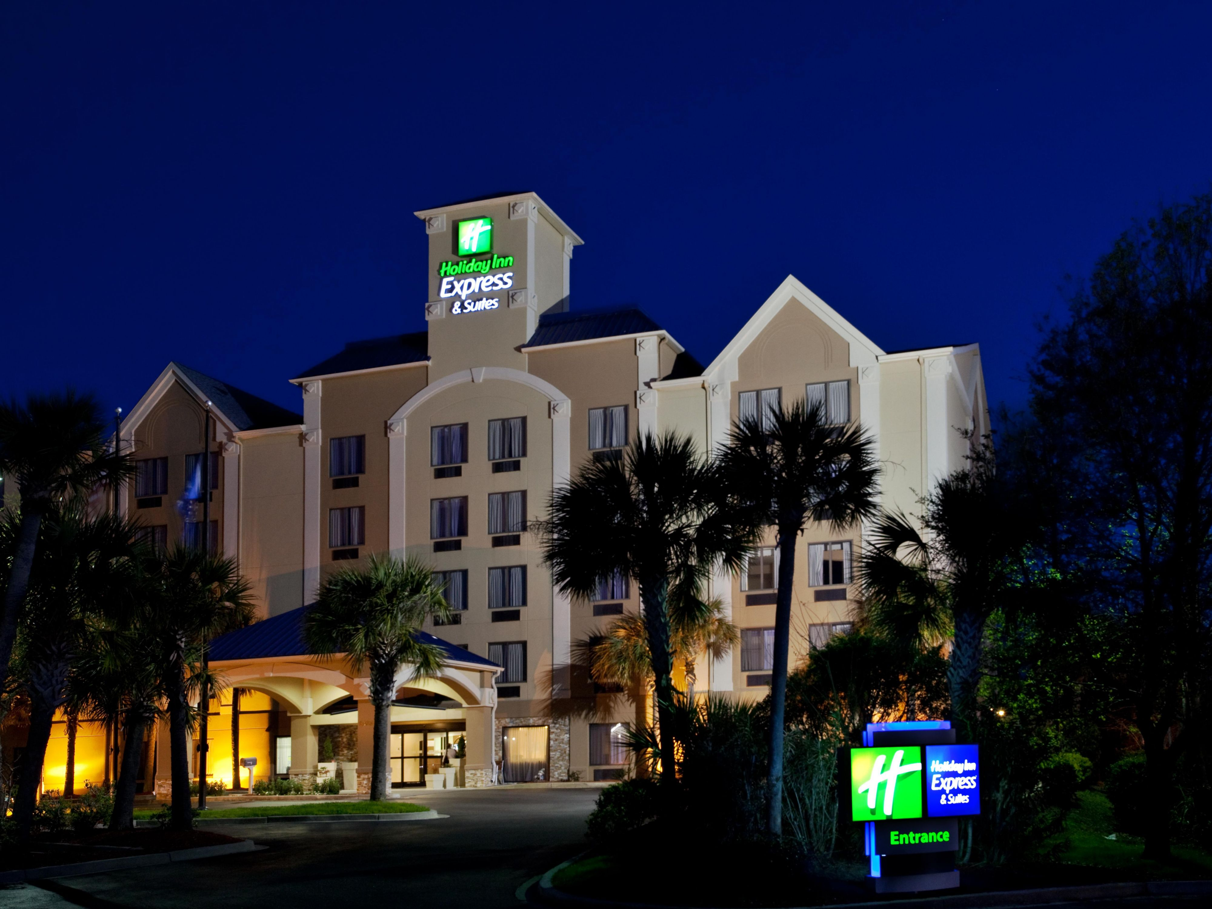 Welcome . . . Holiday Inn Express & Suites Murrells Inlet