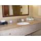Enjoy Bath and Body Works bath amenities.