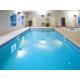 Heated indoor pool, sauna and hot tub.