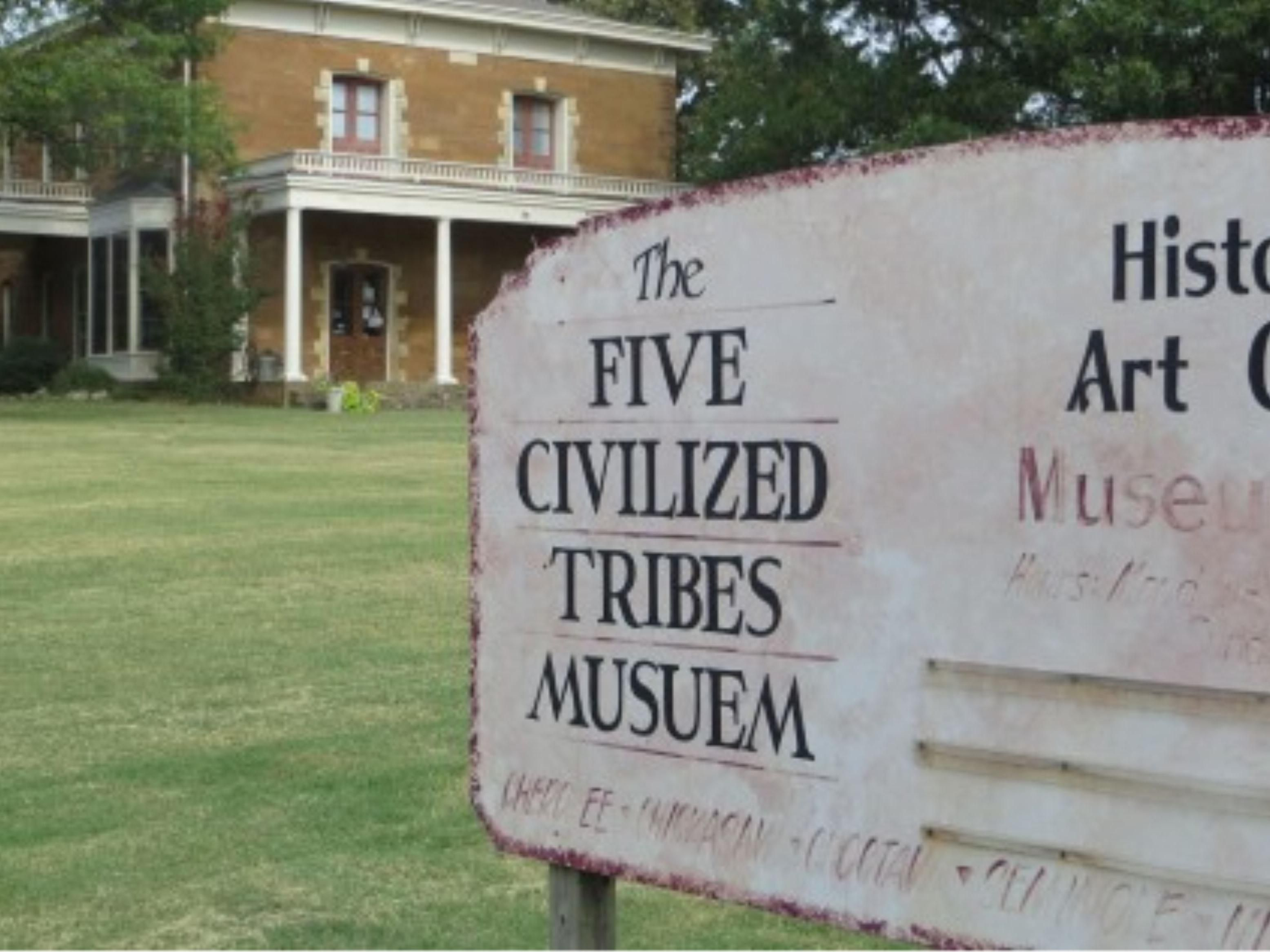 Take a tour of the Five Civilized Tribes Museum.