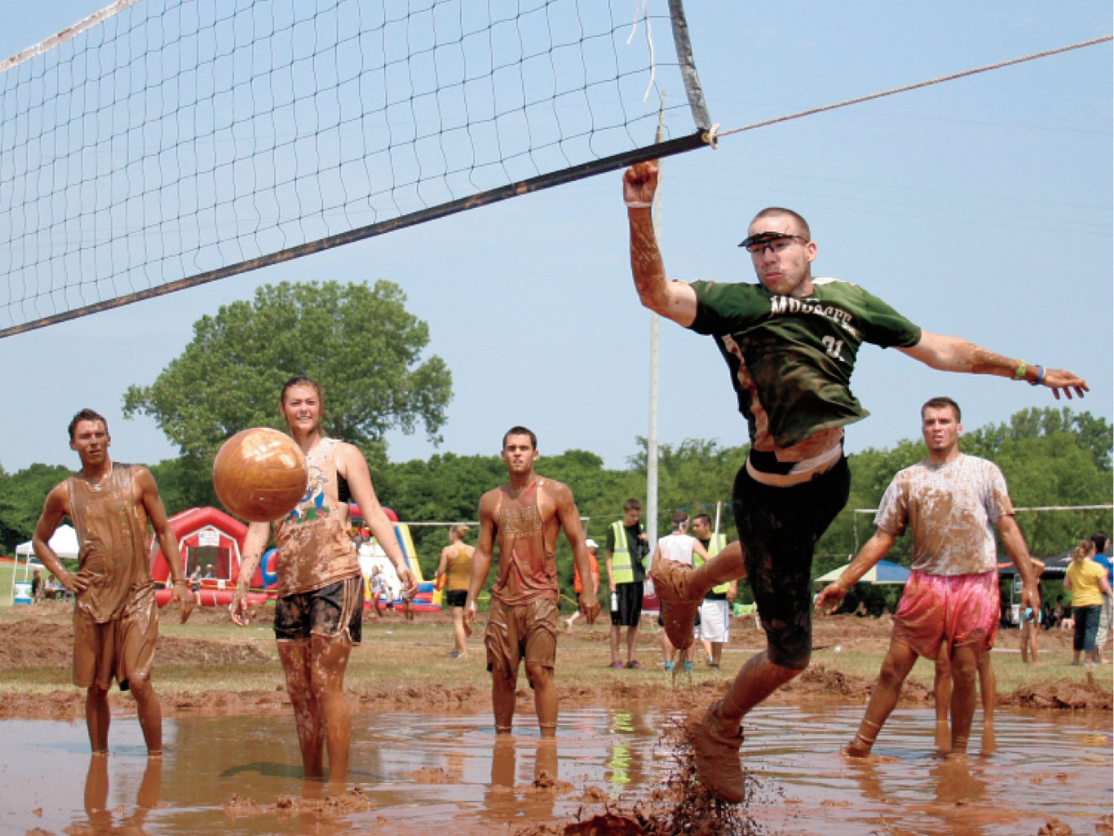 Visit Muskogee for the yearly Mud Stock Volleyball tournament!