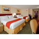Relax in our spacious guest room with 2 queen beds