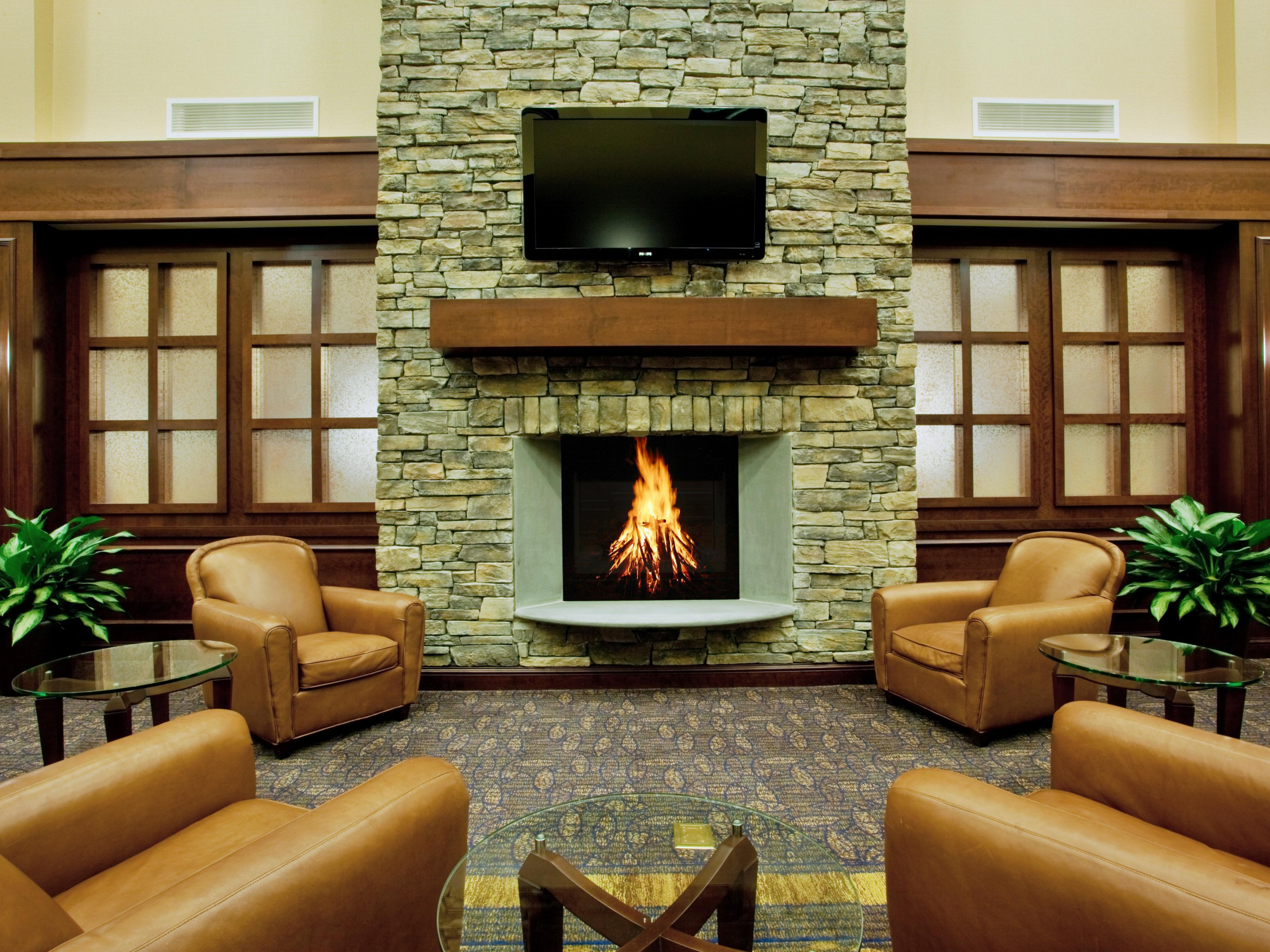 Unwind In Our Lodge Like Lounge Area