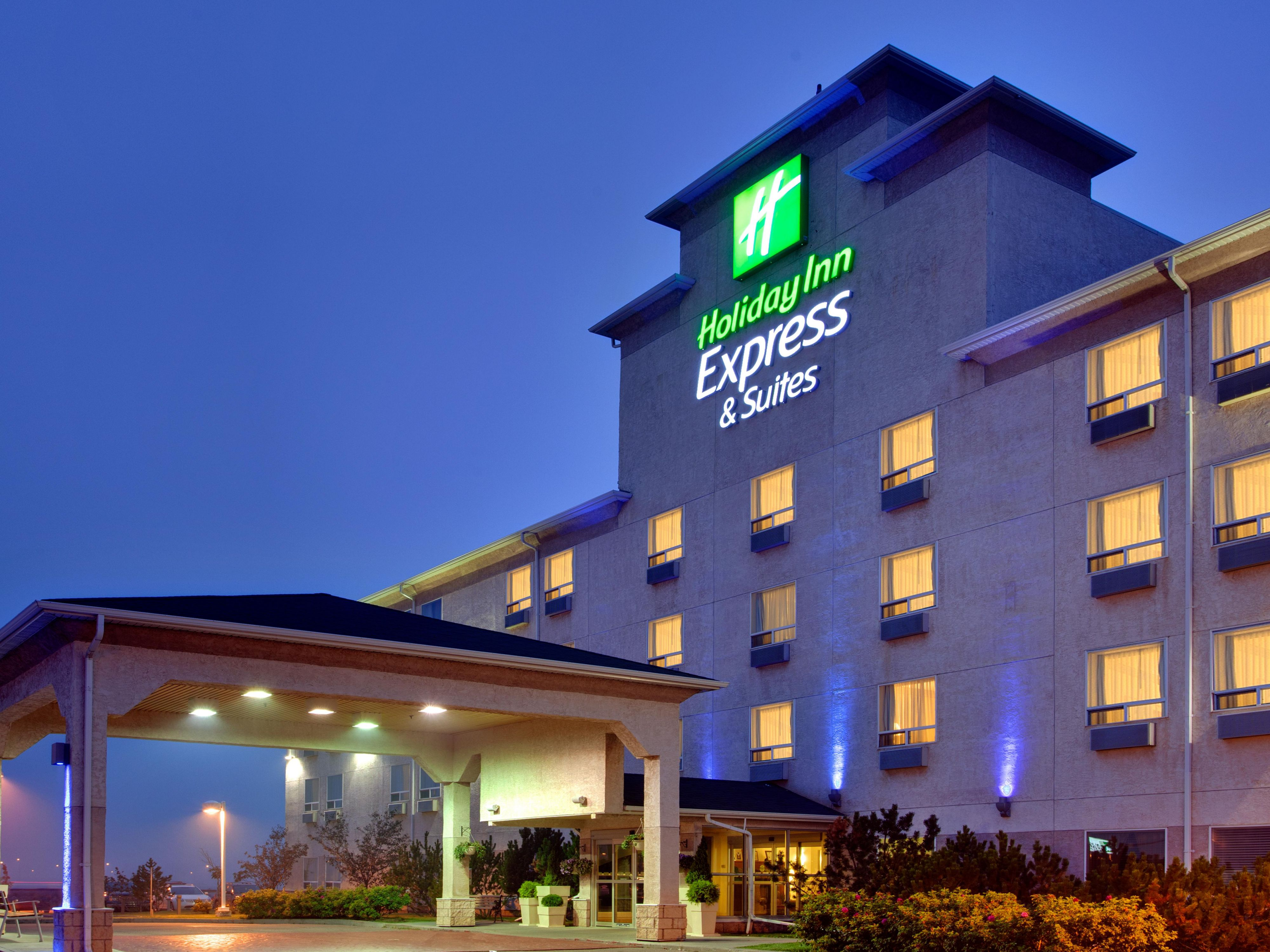 Welcome to the Holiday Inn Express- Nisku