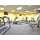 24 Hour fitness center and free weights