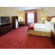Enjoy a refrigerator and microwave in all of our rooms