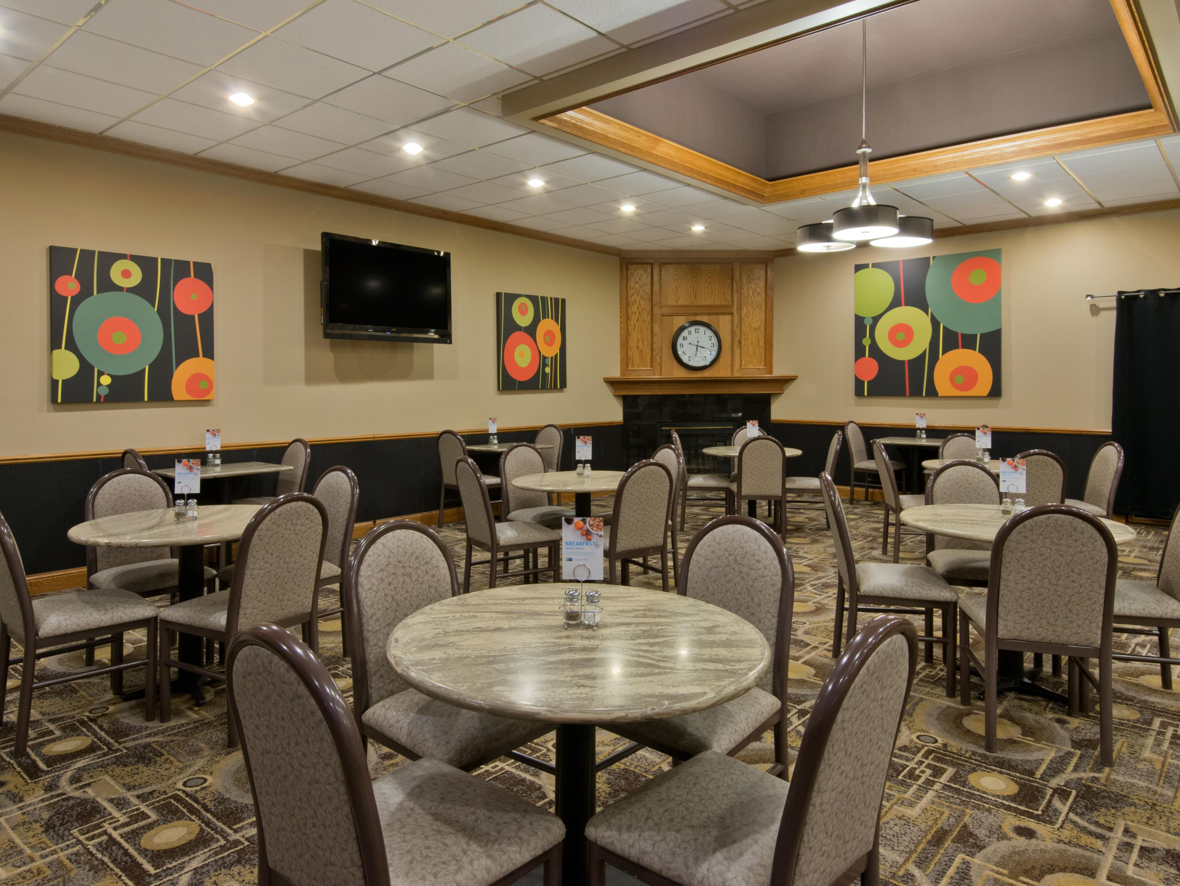 Enjoy Breakfast on us at the Holiday Inn Express North Platte