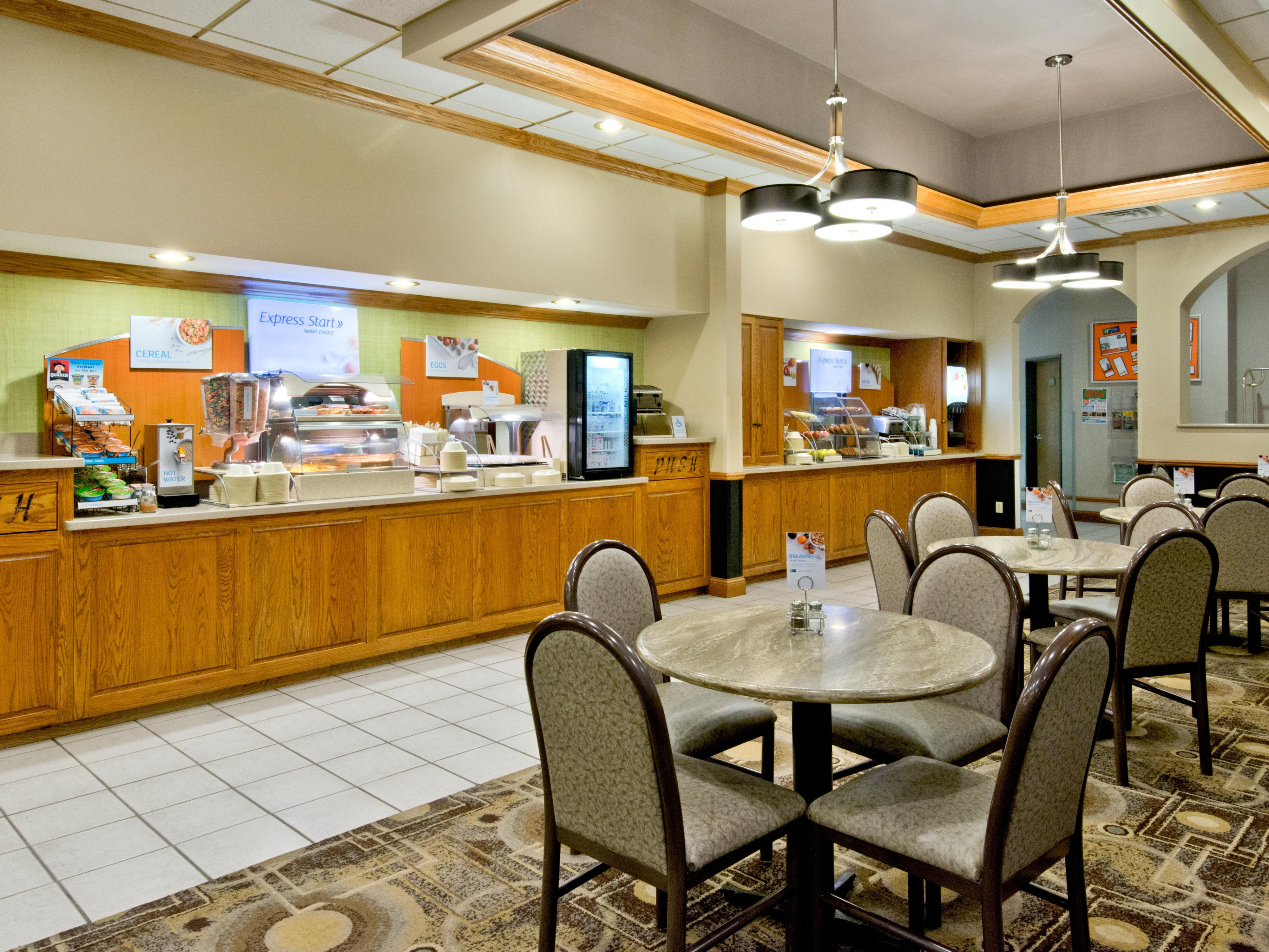 Express Start Breakfast Bar - Holiday Inn Express North Platte
