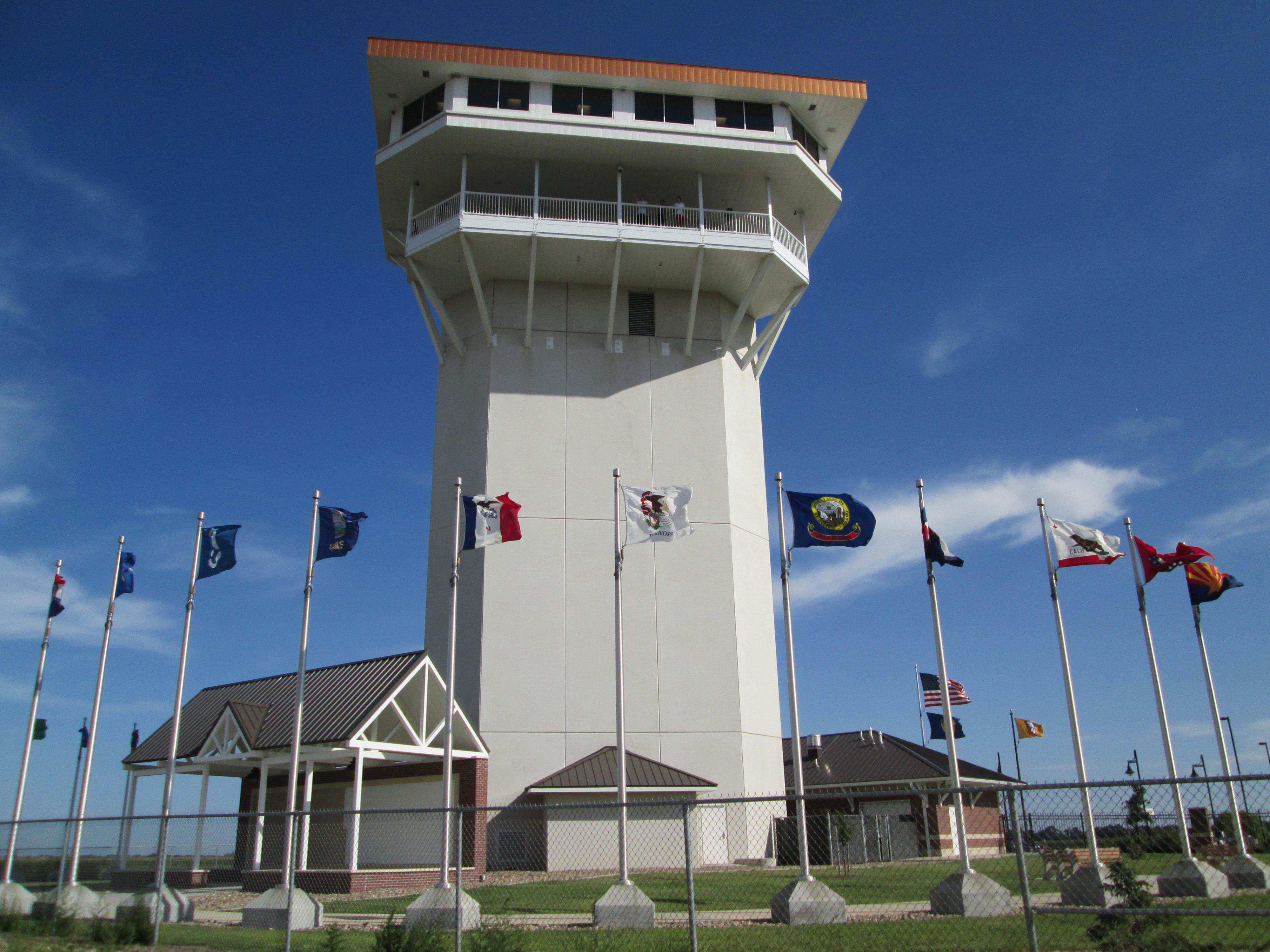 Golden Spike Tower Near Holiday Inn & Suites North Platte