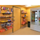 Choices convenience store is open 24 hours w/ a variety of snacks