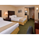 Relax in our newly appointed guest rooms with two queen beds