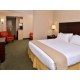 Enjoy a getaway in our one room suite with king bed and jetted tub
