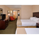 The larger family will enjoy our suite with two beds and a sleeper