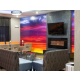 Breakfast Lounge: Holiday Inn Express & Suites Oklahoma City Hotel