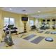 Our fitness center is open 24 hours for your convenience.