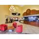 Lobby inside our Universal Orlando hotel