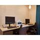 Fully equipped business center.