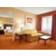 Our spacious large suite includes 2 flat screen TVs!