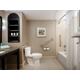 Accessible Bathroom with convenient grab bars